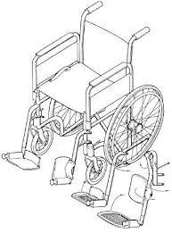 آناتومی صندلی چرخدار