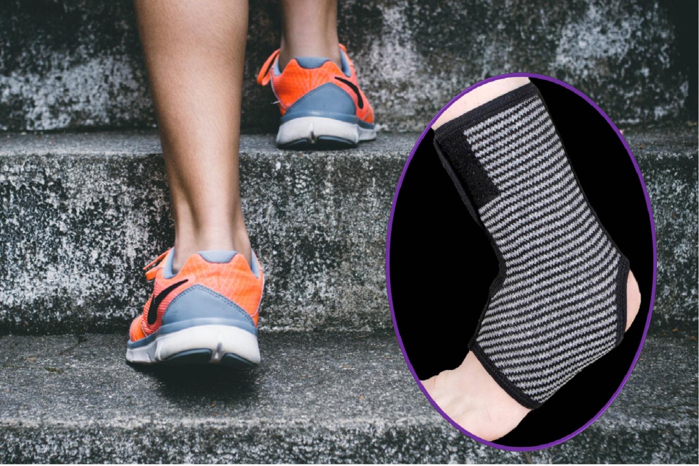 مچ بند پا  قابل تنظیم نئوپرنی  بدون بارهای جانبی