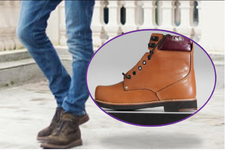 کفش نیم ساق همراه با کفی سفارشی ساز ارتاسازه
