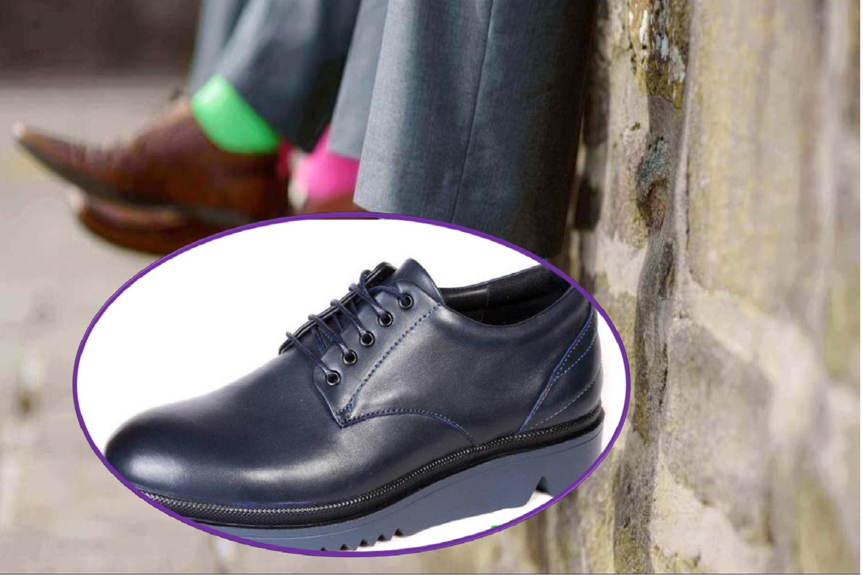 کفش مردانه   همراه با کفی سفارشی ساز ارتاسازه