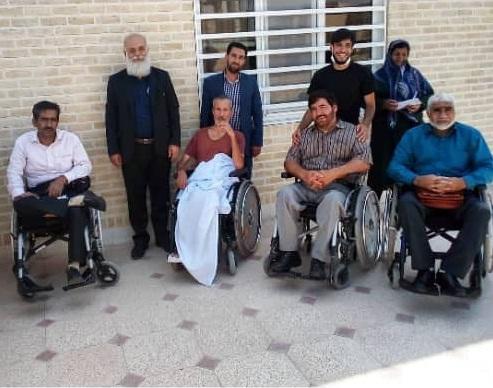 ارزیابی جانبازان با آسیب نخاعی  استان کرمان  توسط کلینیک ویلچر سیب